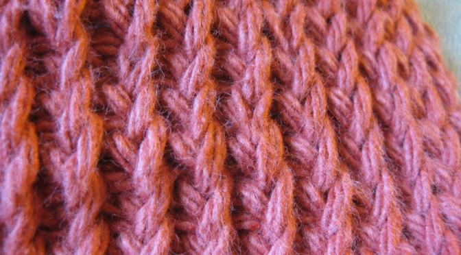 Knitting Stitches Twisted : Tunisian Twisted Knit Stitch Kickin Crochet