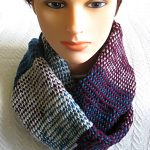 Tricolor Infinity Scarf