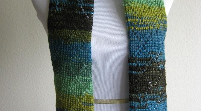 Diamond Scarf Tunisian Crochet Pattern Kickin Crochet