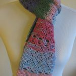 Tunisian Crochet Heart Scarf Pattern
