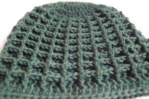 Waffle Hat Crochet Pattern Kickin Crochet
