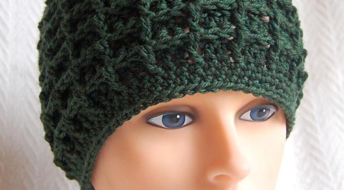 Waffle Hat Crochet Pattern  54bf3922b00